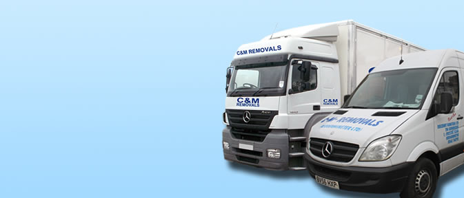C&M velicles to carry out relocation removals
