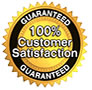 CM Removals Satisfaction Guaranteed Logo